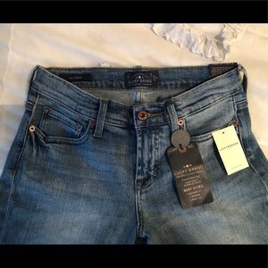 NWT Lucky Brand Size 26 Ankle Jeans